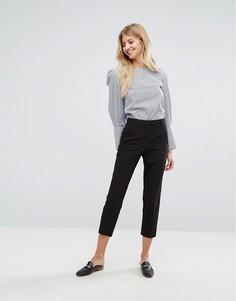 Брюки с узкими штанинами New Look - Черный