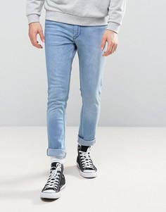 Голубые джинсы с напылением Kubban - Синий