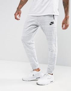 Серые джоггеры Nike 918322-100 - Серый