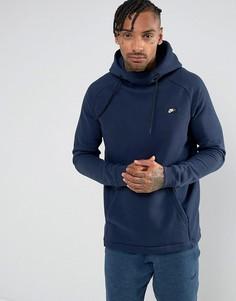 Темно-синий худи Nike Modern 835860-451 - Темно-синий