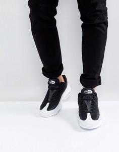 Черные кроссовки Nike Air Max 95 Ultra 857910-009 - Черный