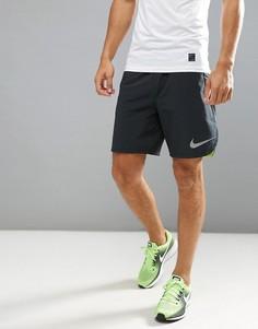 Черные спортивные шорты из материала Flex Nike 833374-010 - Черный