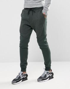 Зеленые флисовые джоггеры Nike Tech 805162-382 - Зеленый