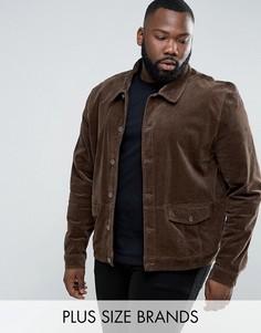 Вельветовая куртка Another Influence PLUS - Светло-серый