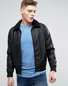 Куртка из искусственной кожи Barneys - Черный Barneys Originals