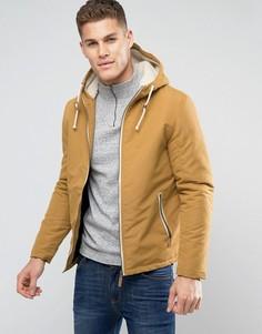 Куртка с капюшоном и завязкой Brave Soul - Рыжий