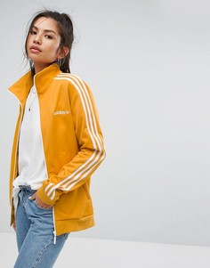 Желтая спортивная куртка adidas Originals - Желтый