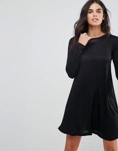 Свободное платье Brave Soul Fresa - Черный