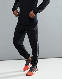 Черные флисовые брюки Puma Running Future Tech 59247801 - Черный