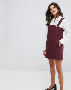 Платье мини BA&SH - Красный Ba&Sh