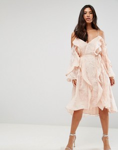 Платье миди Talulah - Розовый