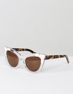 Солнцезащитные очки кошачий глаз Pared - Очистить