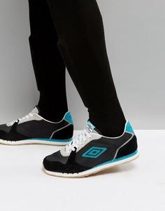 Кроссовки с логотипом Umbro Barton - Черный