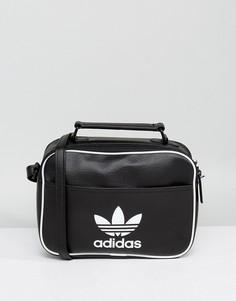 Черная маленькая сумка adidas Originals Airliner - Черный
