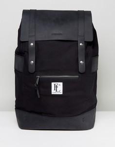 Черный кожаный рюкзак Forbes & Lewis Rider - Черный