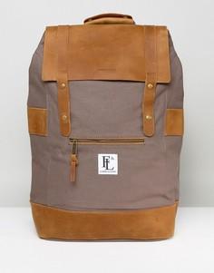 Серый кожаный рюкзак Forbes & Lewis Rider - Серый