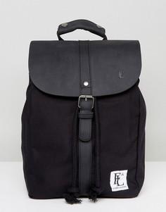 Черный кожаный рюкзак Forbes & Lewis Littlehampton - Черный