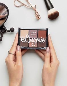 Палитра теней для век NYX Professional Makeup Lid Lingerie - Мульти