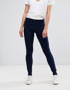 Зауженные джинсы с заниженной талией J.D.Y - Синий JDY