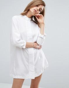 Платье-рубашка Waven Maja - Белый