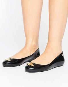 Туфли с логотипом-орбитой Vivienne Westwood For Melissa Space Love - Черный