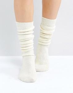 Длинные носки ASOS - Кремовый