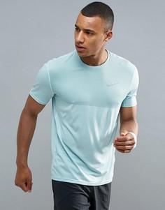 Голубая футболка Nike Running Zonal Relay 833580-357 - Синий