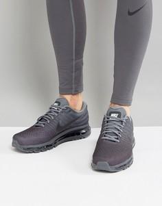 Серые кроссовки Nike Running Air Max 2017 849559-008 - Серый
