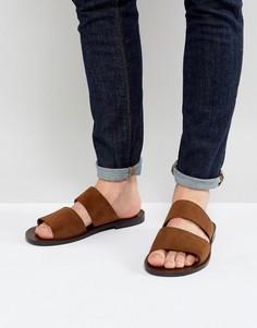 Замшевые сандалии с двумя ремешками ALDO Priour - Рыжий