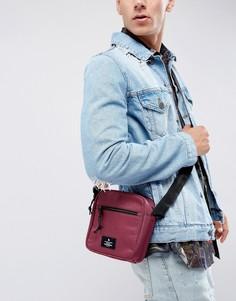 Бордовая сумка для авиаперелетов ASOS - Красный