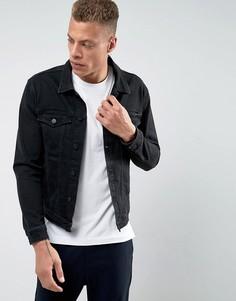 Классическая джинсовая куртка Calvin Klein Jeans - Черный