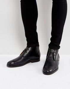 Черные кожаные дезерты Hudson London - Черный