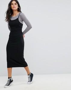 Платье-футболка Brave Soul - Черный