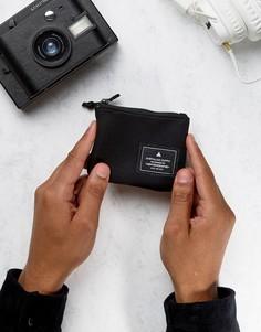 Черный кошелек на молнии ASOS - Черный