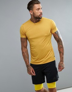 Желтая спортивная футболка adidas BR4153 - Желтый