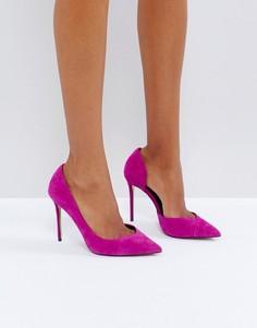 Розовые замшевые туфли-лодочки Carvela - Розовый