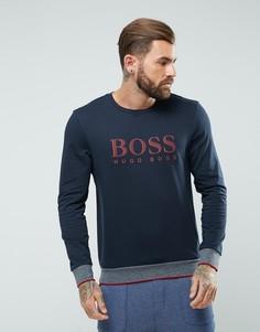 Свитшот с круглым вырезом BOSS By Hugo Boss - Темно-синий
