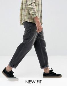Выбеленные черные джинсы ASOS - Черный
