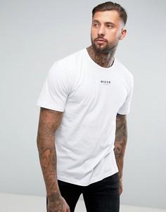 Свободная футболка Nicce London - Белый
