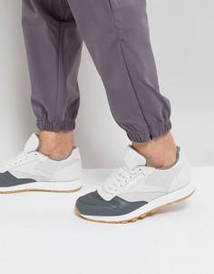 Белые кожаные кроссовки Reebok Classic LS BS5080 - Белый