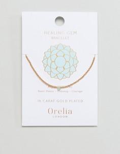Браслет с камнями Orelia - Золотой