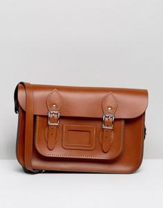 Классический портфель Leather Satchel Company 12.5 - Рыжий