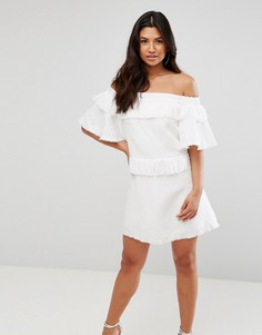 Платье мини Talulah - Белый
