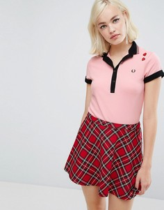 Футболка-поло Fred Perry Amy Winehouse Foundation - Розовый