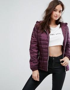 Легкая дутая куртка New Look - Фиолетовый
