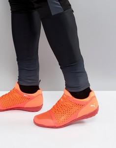 Оранжевые ботинки Puma IGNITE 365 Netfit Astro Turf 10447501 - Оранжевый
