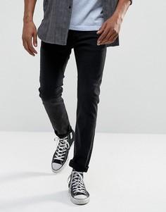 Узкие джинсы с потертостями G-Star 3302 - Синий