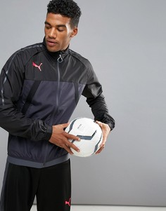 Черная спортивная куртка Puma Football evoTRG 65532506 - Черный