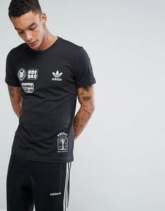 Черная футболка adidas Originals Seoul Pack Off BS3167 - Черный