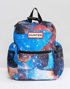 Мини-рюкзак с космическим принтом Hunter Original - Мульти